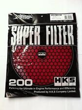 HKS 200mm Filter Replacement - Red