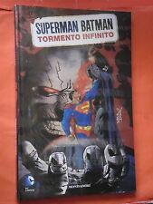 SUPERMAN BATMAN -MONDADORI- N°6- tormento infinito -SIGILLATO -EDIZIONI-LION