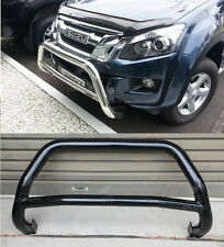Isuzu D-Max DMAX Holden Colorado Nudge Bar Black Painted Grille Guard 2012-2016