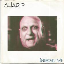 SHARP Entertain me UK SINGLE UNICORN 1986 BRUCE FOXTON RICK BUCKLER (JAM)