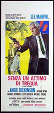CINEMA-locandina SENZA UN ATTIMO DI TREGUA (POINT BLANK) marvin,BOORMAN