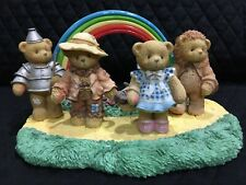 Cherished Teddies - Enesco - Follow The Yellow Brick Road - Wizard Of Oz, Set