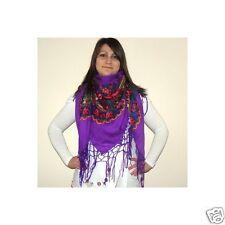 Ukrainian shawl with fringes, traditional scarf, hustka platok 100*100, 9 models