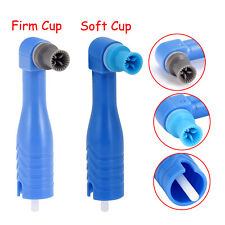 500pcs Disposable Dental Prophy Angles Latex Free Soft Or Firm Cups Brushes
