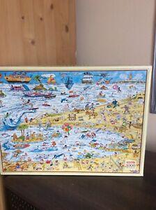 Waddingtons At the Beach 1000 piece jigsaw puzzle