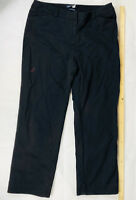 Sportscraft 12 Ladies black cotton stretch pants