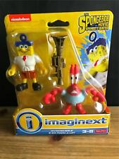 Fisher Price Imaginext SPONGEBOB MOVIE Invincibubble & Sir Pinch-A-Lot FIGURES