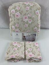 Simply Shabby Chic Queen Comforter Set Dutchess Blossom Full Rachel Ashwell 3 Pc