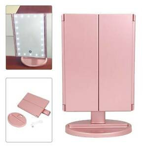 NEW 22 LED Light Mirror Make Up Mirror With 2X 3X Magnifying Dressing Table