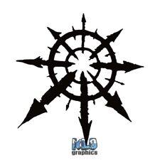 CHAOS SYMBOL Jagged vinyl Sticker / Decal Heavy Metal PUNK Sign Anarchy