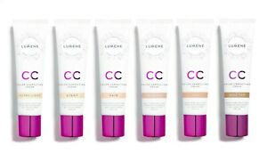 LUMENE CC Cream 6-in-1 - Semi-Matte - SPF20 - 6 Shades - Vegan - New