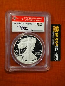 2012 S PROOF SILVER EAGLE PCGS PR70 FIRST STRIKE MERCANTI FROM SAN FRANCISCO SET