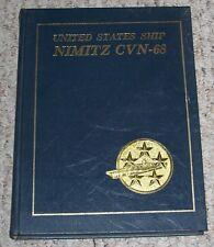 1980 - 1982 USS NIMITZ CVN-68 Cruise Book 1980-82