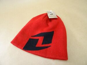 One Industries Icon Beanie Hat Never Worn Red / Black