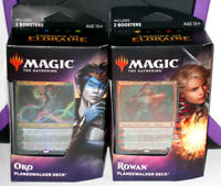 Magic The Gathering: Throne Of Eldraine Oko Rowan 2 Pack Planeswalker Deck new