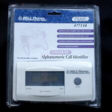 Bell Phones Caller Id 77110 Alphanumeric Call Identifier New Sealed