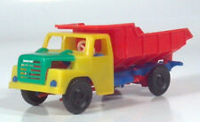 "Vintage Henschel Plastic Dump Tipper Truck 4.75"" Scale Model West Germany"