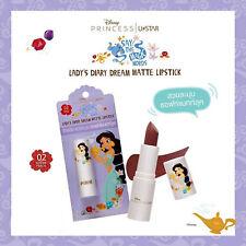 DISNEY PRINCESS Aladdin Jasmine Princess Color Matte Lipstick
