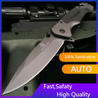 """9"""" Spring Tactical Assisted Folding Knives Rescue Camping Survival Pocket Knife"""
