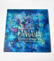 Disney Fantasia 3 LP Soundtrack, Buena Vista Records,1961,NM 1st stereo pressing