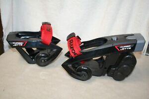 Razor 25156199 Turbo Jetts Electric Heel Wheels - Black