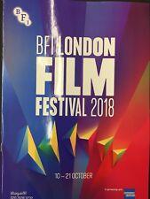 BFI LONDON FILM FESTIVAL 2018 112-PAGE COLOUR PROGRAMME MINT