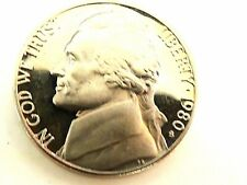 1980-S Jefferson Proof Nickel