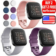 For Fitbit Versa 2  Versa  Versa Lite Replacement Silicone Watch Band Strap