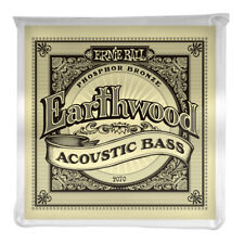 Ernie Ball Earthwood Phosphor Bronze Acoustic Bass Strings 2070