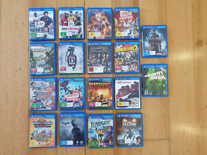 PS Vita Games Playstation PSV - Huge Range Multiple Copies Cheap Tracked Postage