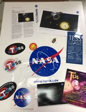 TESS Program Patch SpaceX Falcon 9 Kennedy Space Center CCAFS NASA Stickers Set