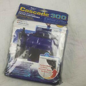 Penn Plax Cascade 300 GPH Filter Cartridges 3-Pack for Hang On Filter Aquarium