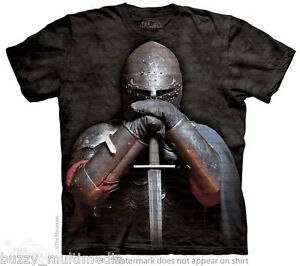 Knight in Armor Shirt, IN STOCK, sword, Medieval, SCA, ren fair tops, SM - 5X