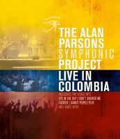 THE ALAN PARSONS SYMPHONIC PROJECT - LIVE IN COLOMBIA   BLU-RAY NEW+