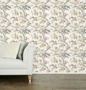 Laura Ashley Florintine Natural Wallpaper. Batch Number May Vary