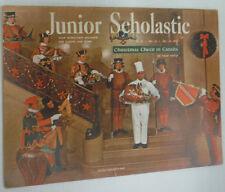 Junior Scholastic Magazine Christmas Cheer In Canada December 1962 061915R