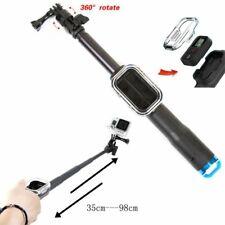 Selfie Stick Handheld Pole + Remote Control Box for GoPro Hero 8 7 6 5 4 3+ 3 2