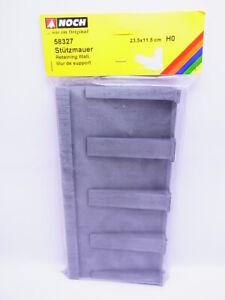 68023 Noch H0 58327 Retaining Wall 23,5 x 11,5cm New Original Packaging