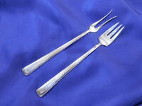 WATROUS ROSALIND NEW STERLING SILVER OLIVE FORK VERY GOOD CONDITION