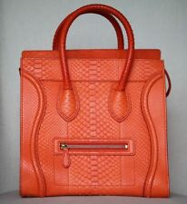 CELINE Python bagaglio Tote Bag