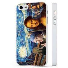 Art Funny Van Gogh Munch Mona Lisa WHITE PHONE CASE COVER fits iPHONE
