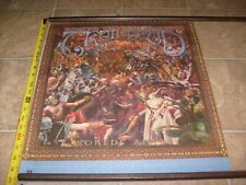 TRAIL OF DEAD WORLDS APART RARE PROMOTIONAL RECORD STORE ROCK CD PROMO POSTER