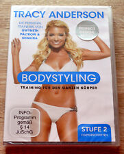 Tracy Anderson - Bodystyling: Stufe 2 Fortgeschritten (2010) NEU !! Fitness, DVD