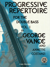 George Vance Progressive Repertoire for the Double Bass #1 Noten m Download Code