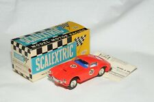 Scalextric 1:32 Slotcar Ferrari 250 Gt rot