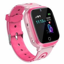 Kids Smart Watch GPS Tracker - Smartwatch for Kids with GPS LBS Location Calls