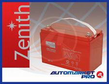 BATTERIA SERVIZI AGM ZENITH ZGL120078 12V 100 AMPERE SCARICA LENTA DEEP CYCLE
