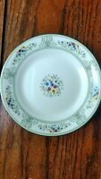 """Wedgwood AGINCOURT GREEN Floral  R4471 Bread Plates 6"""" Set of 8"""