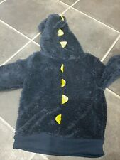 Personalised Embroidered boys Big Brother Dinosaur Hoodie ANY WORDING  Age 1-8