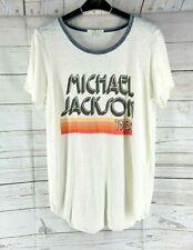 Junk Food Cotton Vintage Michael Jackson 1983 Gr Tusk Pepper Tshirt SZ M